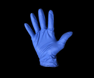 Disposable Nitrile Gloves Size Large Powder Free