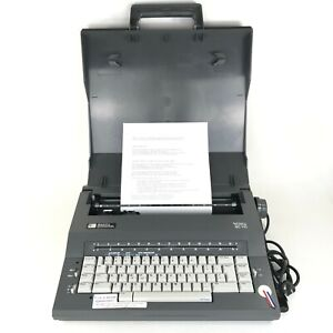 Smith Corona Sc110 Portable Spell Right Dictionary Electric Typewriter