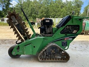 2016 Vermeer Rtx100 Track Mounted Walk Behind Trencher