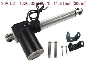 Widely Used Linear Actuator 24v Dc 1320lbs 6000n 11 8inch 300mm