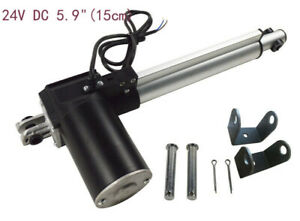 Stable Running 5 9 150mm Linear Actuator 24v Dc Electric Motor Auto 6000n