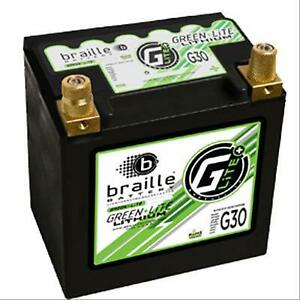 Braille Battery G30 Green Lite Lithium Ion 12 Volt Automotive Battery Bci Group