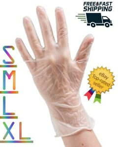Disposable Vinyl Gloves Powder free Latex free Non sterile S M L Xl