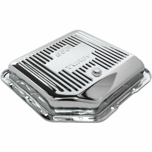 Jegs 601180 Transmission Pan Gm Th350 Chrome Steel