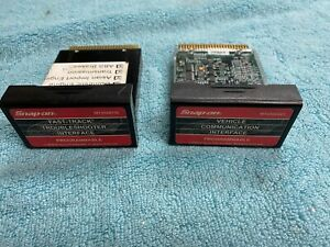V5 4 Snap On Mt2500tsi Mt2500vci Programmable Interface Mt2500 Cartridges Set