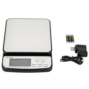 110 Lb 0 35oz Digital Postal Shipping Scale Weight Postage Kitchen Counting
