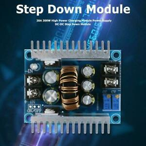 Dc dc Converter 20a300w Step Up Step Down Boost Power Adjustable Charger O6h5
