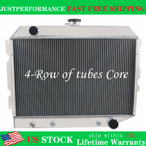 4 Row Radiator For 26 wide Core Dodge Plymouth Mopar Cars Small Block 1968 1974