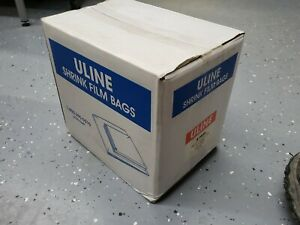 7 X 10 Shrink Wrap Bags 100 Gauge Uline S 6834 3000 Ct Dvd Cd Book