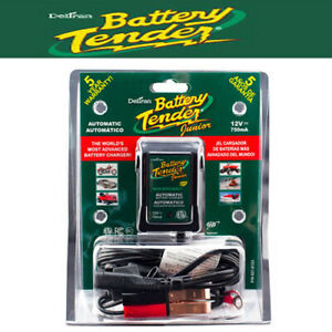 Deltran 12 Volt 750ma Battery Tender Jr Maintainer Motorcycle Charger 021 0123