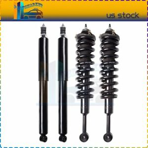For 2005 2015 Toyota Tacoma Front Complete Struts Spring Assembly Rear Shocks