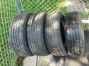 4 Goodyear Tires P245 70r16