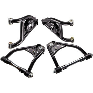 4 Pcs Front Heavy Duty Upper Lower Control Arms For Camaro Firebird 1967 1969
