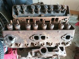 1957 Corvette 283cylinder Heads A77 Cast Date 3731539