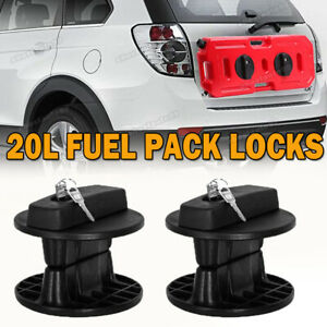20l Fuel Tank Mounting Bracket Petrol Gas Jerry Can Container Gasoline Pack Lock