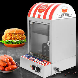 New Hot Dog Steamer Warmer Machine Food Bun Commercial Electric 1500w 30 110 Us