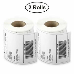 Hampshire Pride 2 Rolls 4x6 Direct Thermal Shipping Labels 250 Per Roll Zebra