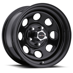 Vision Wheel 85 Soft 8 15x10 5x4 5 5x114 3 Gloss Black Wheel 39mm