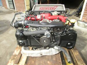 2004 2005 Subaru Impreza Sti Ej207 Engine Version 8 Vf37 Turbo 2 0l Motor Jdm V8