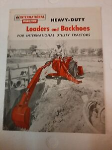 Ih International Wagner Loaders And Backhoes For Utility Tractors Brochure