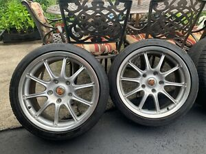 18inch Porsche Rims In Great Condition Staggered Michelin Tires 911 Carrera