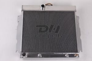 3 Row Aluminum Radiator For 1963 1969 Dodge Charger Plymouth Fury Mopar 22 Wide
