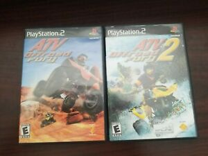 ATV Offroad Fury 1 & 2 (Complete) - Playstation 2 PS2 Lot