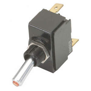 Carling Technologies Lt 1511 610 012 Toggle Switch spst 20a 12v quikconnct