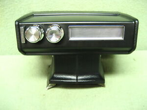 1969 70 Pontiac 8 Track Tape Player W non Console Bracket Looks Good Untested