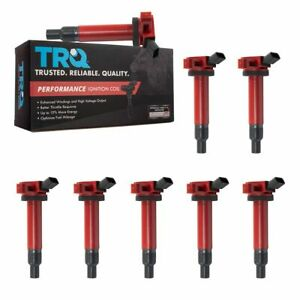 Trq Premium High Performance Engine Ignition Coil Kit Of 8 For Toyota Lexus