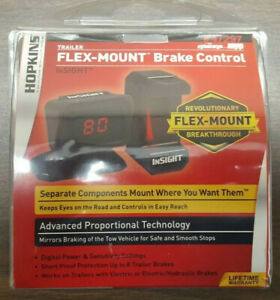 Flex mount Trailer Brake Control 47297 By Hopkins Towing Solutions