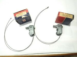 Willys Wagon pickup Wiper Towers Nos Left And Right