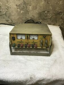 Tested Working Tenma 72 4045a Triple Output Dc Power Supply Meter 0 24 Vdc