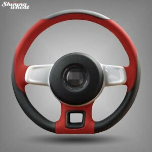 Bannis Leather Steering Wheel Cover For Volkswagen Vw Beetle 2012 2016 Up