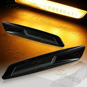 For Bmw 1 3 5 series F10 Style Smoke Amber Led Turn Signal Side Marker Lights