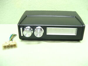 1969 1972 Pontiac 8 Track Tape Player No Brackets Looks Pretty Good Untested