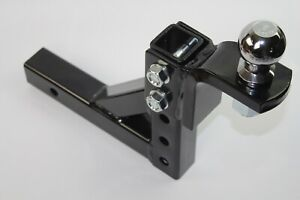 10 Adjustable Trailer Drop Hitch Ball Mount 2 Receiver With 2 hitch Ball