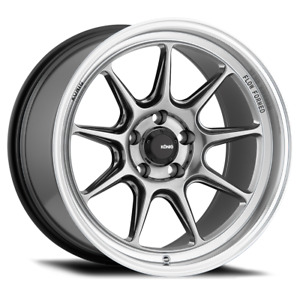 4 Konig Countergram 18x11b 5x114 3 Hyper Chrome Wheels 18 15mm Rims