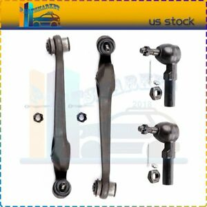 Fits For 1993 2001 Saturn Sw2 New Both 4 Suspension Kit Ball Joints Control Arm