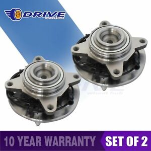 2 Front Wheel Bearing Hub For Ford Expedition Navigator 2wd Rwd 03 2006 515042