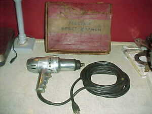 Vintage 1960 s Snap On Tools Ew 475 1 2 Electric Impact Wrench In Original Box