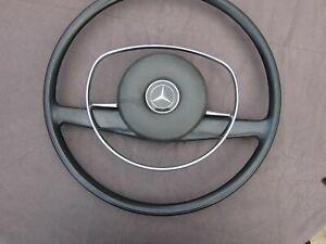 1972 Mercedes benz Steering Wheel With Horn W114 W115 W108 Excellent