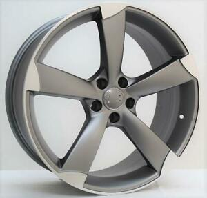 20 Wheels For Audi A5 S5 2008 Up 5x112 25mm 20x9