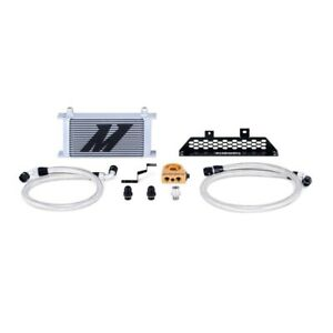 Mishimoto Silver Thermostatic Oil Cooler Kit For 2013 2018 Ford Focus St