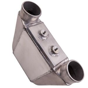 Universal Air To Water Liquid Intercooler 9 X 11 X 4 5 3 50 Inlet Outlet