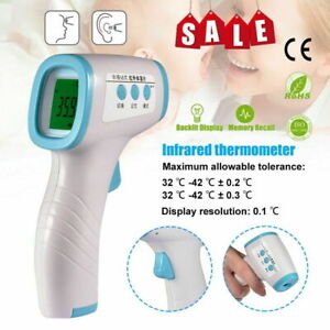 New Infrared Thermometer Lcd Non contact Temperature Gun Digital Ir Temp Meter