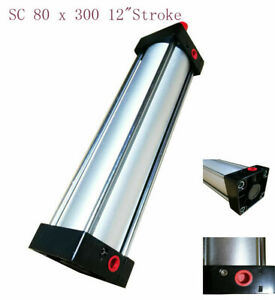 High Seal Pneumatic Standard Cylinder Sc 80 X 300 12 stroke Single Rod