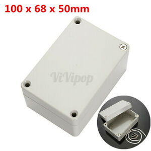 4 x2 6 x2 Abs Plastic Electronics Enclosure Project Box Hobby Case Waterproof