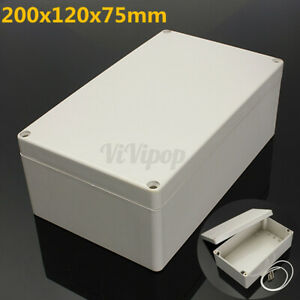 Electronic Project Box Junction Enclosure Case Box Waterproof 7 9x4 7x3 Inch Abs