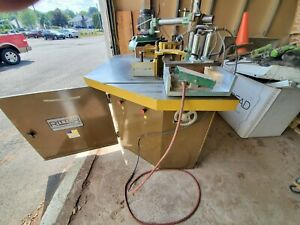 Ritter R30 Shaper 3 Head With Power Feed And Pneumatic Clamp